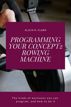 Alicia R. Clark | The monitor of your Concept2 rowing machine is a great tool you can use to track your workouts. You can program workouts, and the memory stores them for a long time so you don't have to worry about keeping a record. Check out this post for the different kinds of workouts you can program. #rowingmachine #concept2 #rowingwod Rowing Workout, Indoor Rowing, Plus And Minus, Time Running Out, You Fitness, Monitor, Workouts, Track, Memories