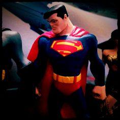 Image of a Superman Figure taken with my iPhone 5 using the Instagram app. #toy #superman #actionhero #superhero #dccomics