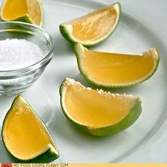Tequila jello shots! :))