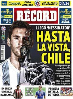 México - RÉCORD 3 de julio del 2015