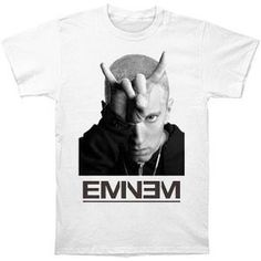 Eminem - Finger Horns T-Shirt (Small).