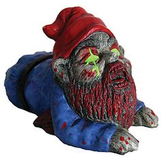 Buy Zombie Garden Gnome - Crawler online and save! Don't drag your feet with this guy around! The Zombie Gnome's afflicted cousin is a crawler! Hot on the heels – literally – of the original Zombie G. Zombies, Gnomes For Sale, Yard Gnomes, Garden Decor Items, Gnome Garden, Garden Ornaments, Lawn Ornaments, Halloween Gifts, Trendy Halloween