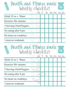 Free Printable: Health and Fitness Goal Checklist - Barre Workout - Workout Planner, Fitness Planner, Fitness Goals, Fitness Motivation, Fitness Tracker, Goals Planner, Health Planner, Fitness Memes, Positive Motivation
