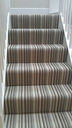 Most up-to-date Pic Grey Carpet hallway Tips Selecting the most appropriate carp. Most up-to-date Pic Grey Carpet hallway Tips Selecting the most appropriate carp…, # Striped Carpet Stairs, Grey Stair Carpet, Grey Carpet Hallway, Stairway Carpet, Striped Carpets, Carpet Stair Treads, Beige Carpet, Grey Hallway, Carpet On Stairs