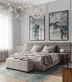 How to Design a Modern Bedroom Master Bedroom Interior, Home Bedroom, Bedroom Decor, Bedroom Lighting, Classic Interior, Home Interior Design, Contemporary Bedroom, Modern Bedroom, Suites