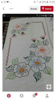 Hand Embroidery Projects, Crewel Embroidery, Hand Embroidery Designs, Applique Designs, Embroidery Applique, Embroidery Patterns, Machine Embroidery, Cross Stitch Designs, Cross Stitch Patterns
