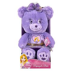 "NWT Disney Princess Tangled 12""  Plush Bear- Rapunzel"