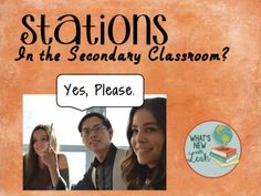 Stations in the secondary classroom? Absolutely! This FREE video guides you through how you can effectively use stations to heighten student engagement and interest while effectively delivering content. This is part one of a two-part video series!
