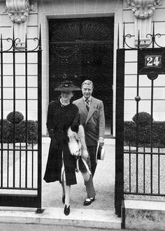 Edward VIII  abdicated his throne in order to marry divorcee Wallis Simpson - 1936