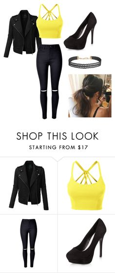 """Untitled #66"" by kat-21 on Polyvore featuring LE3NO, New Look and Humble Chic"