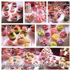 Cupcakes mesa dulce, candy bar