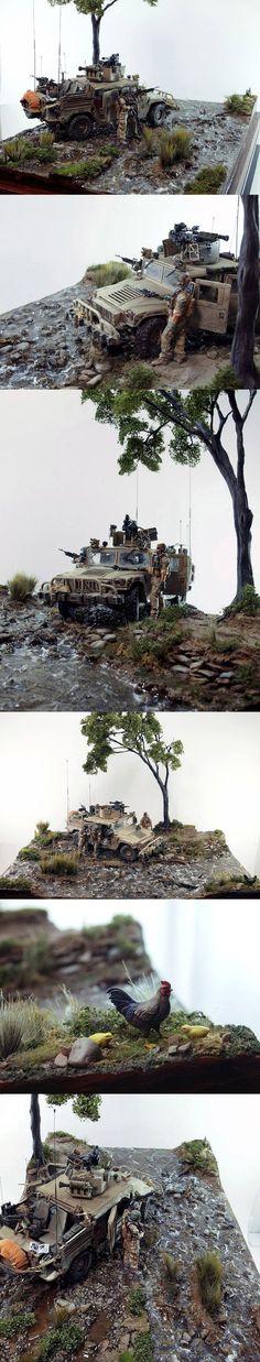 DUMVEE 1/35 Scale Model Diorama: