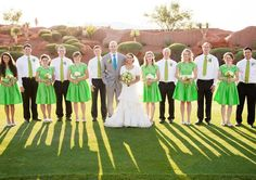 group wedding photos by Claire Marika Photography