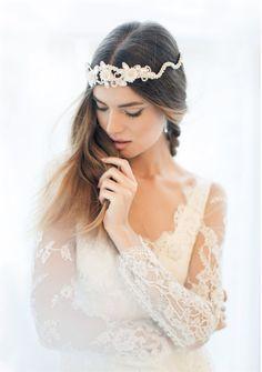 """Goddess in White"" Frederikke Winther for Vogue Japan Wedding Vol. 6 2015"
