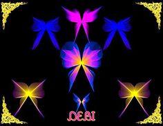 butterfly bows Debi