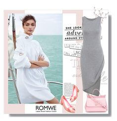 """""""Romwe"""" by fashion-all-around ❤ liked on Polyvore featuring Kate Spade and Dolce&Gabbana"""