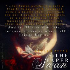 Review - The Paper Swan by Leylah Attar