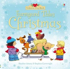 """Find out more about """"Farmyard Tales Christmas flap book"""", write a review or buy online."""