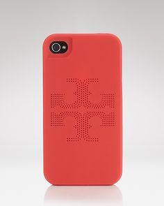 Tory Burch iPhone 4 Case - Kipp Perforated Logo | Bloomingdale's