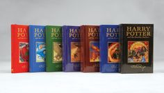 All the Harry Potter books by J.K. Rowling