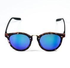 Gafas de Sol #Insignia #TOURTLE Mirrored Sunglasses, Badges, Sunglasses