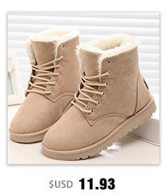 6b71aa5ef7da Classic Women Winter Boots Suede Ankle Snow Boots Female Warm Fur Plush  Insole High Quality Botas Mujer Lace-Up free shipping worldwide