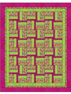 WINDMILL Downloadable 3 Yard Quilt Pattern