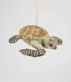 Sea Turtle Ornament from The Holiday Barn