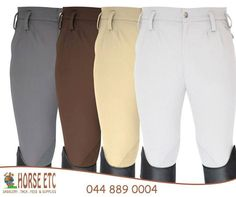 Beautiful and comfortable breeches available in assorted sizes at #HorseEtc. #equestriansupplies