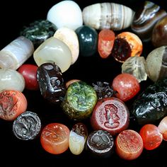 Ancient Seal Bead Collection