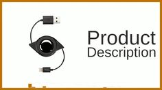 AmazonBasics Apple Certified Retractable Lightning to USB Cable