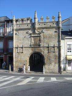 Spain, Galicia, Lugo, Viveiro, Carlos V Gate Secret Places, Gate, Scenery, Louvre, Colour, World, Building, Travel, Vivarium