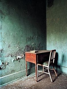 little jack horner......Photographer Jeremy Harris documents abandoned asylums and the things he finds within them.