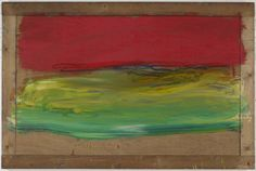 """Howard Hodgkin THE MARK OF COLOR by Jennifer Samet. Howard Hodgkin's """"dynamic, emotionally resonant"""" paintings unite stroke, pigment and frame into one cohesive experience. Howard Hodgkin, Gagosian Gallery, Hans Peter, Colour Field, English Artists, Small Paintings, Online Art Gallery, Night Skies, Contemporary Art"""