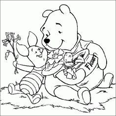 Winnie Pooh 24 Ausmalbilder