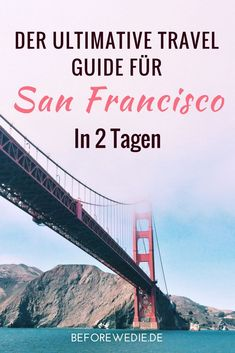 Trave Guide to San Francisco