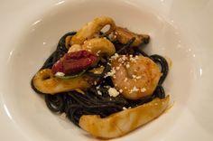 Spaghetti with Parihuela sauce