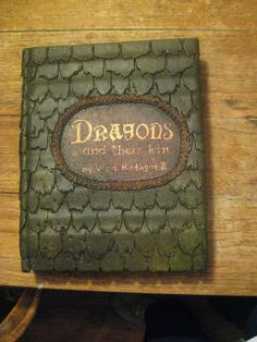 Bascombe Mania: Tutorial To Make Your Own Dragon Book