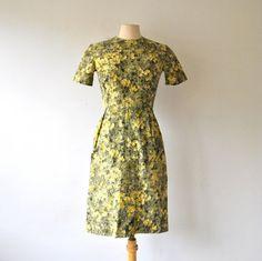 vintage dress / 60s dress / dress cotton / by RockAndRollVintage, $59.00