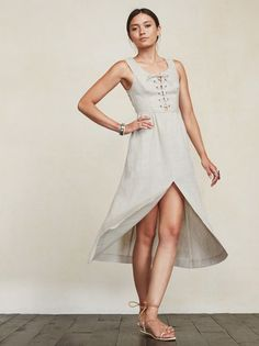The Lido Dress is what a lady should wear. Well, what a cool lady should wear. https://www.thereformation.com/products/lido-dress-bone?utm_source=pinterest&utm_medium=organic&utm_campaign=PinterestOwnedPins