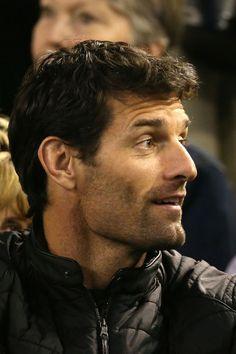 Mark Webber - 2014 Australian Open - Day 13