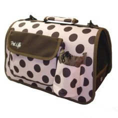 Pet Life Airline Approved Zippered 'Casual' Pet Carrier