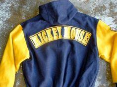 Mickey baseball jacket (back)