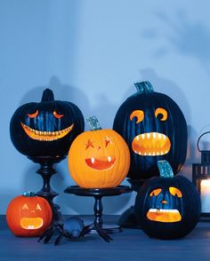Genius Halloween carving time-saver: Instead of carving out teeth, use acrylic nails!