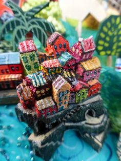 Sara Drake - illustrated map of Italy - papier mache, acrylic paint, balsa wood and mixed media. Italy Map, Cinque Terre, Beads And Wire, Map Art, Drake, Cool Art, Mixed Media, Shapes, Illustration