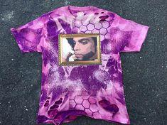 5213b535 Rip Prince The Artist Yeezus Tour Bleached Distressed Kanye West purpose  tour Calabasas ASSC I Feel Like Pablo Yeezy Yeezus Merch T shirt