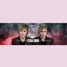 Ferocious by Jedward, download on 24th October!