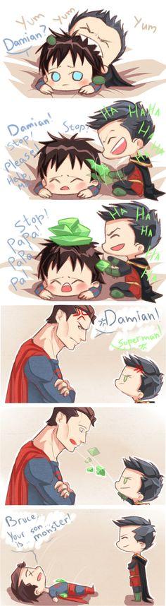 Damian being... well Damian
