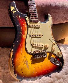 Guitar Body, Music Guitar, Cool Guitar, Guitar Amp, Fender Vintage, Vintage Guitars, Fender Stratocaster, Fender Guitars, Guitar Posters