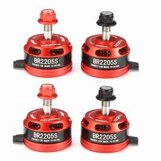 4X Racerstar Racing Edition 2205S BR2205S 2600KV 2-4S Brushless Motor For 210 QAV250 280 RC Drone FPV Racing